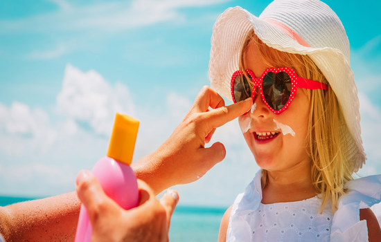 Is sunscreen safe for children?