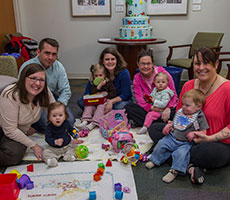 Heart Patient Family Play Group