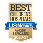 U.S. News and World Report Best Children's Hospital 2019-2020