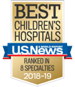 U.S. News and World Report Best Children's Hospital 2018-2019