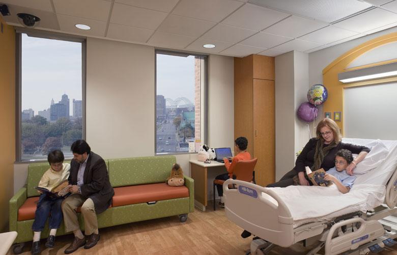 1st-floor - Le Bonheur Childrens Hospital