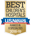 U.S. News Best Children's Hospital 2018-2019